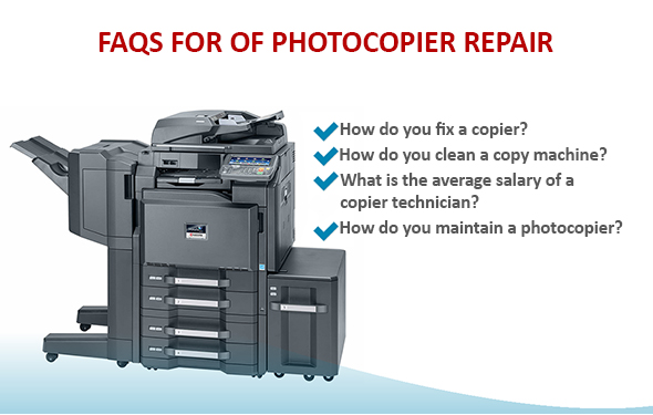 FAQs for of Photocopier Repair