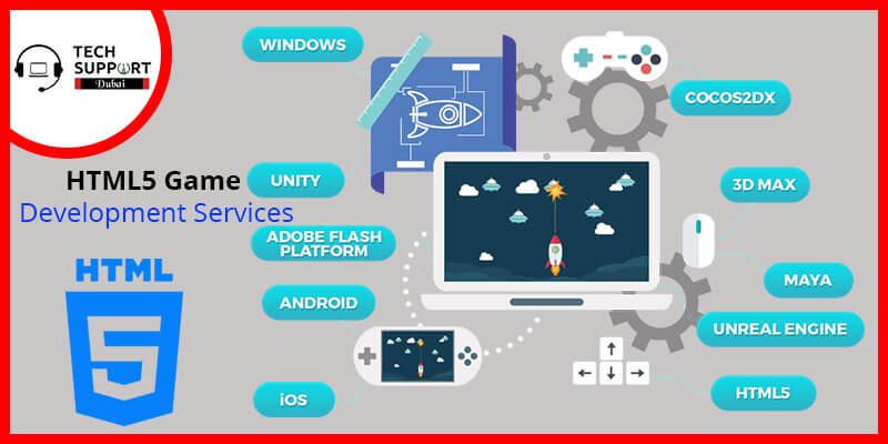 HTML5 Game Development Services