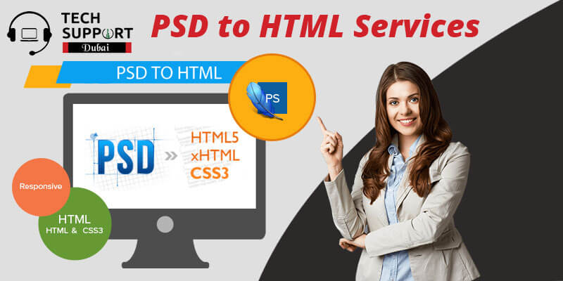 PSD to HTML services in Dubai