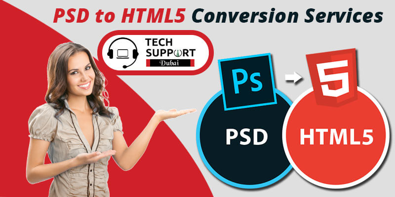 PSD to HTML5 conversion services