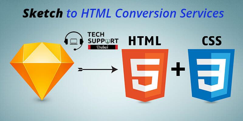 HTML conversion services in Dubai