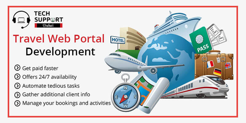 travel portal website