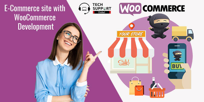 E-Commerce site with WooCommerce Development