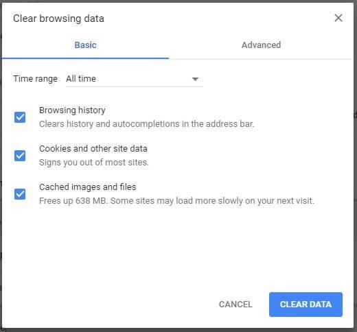 chrome-delete-browser-data